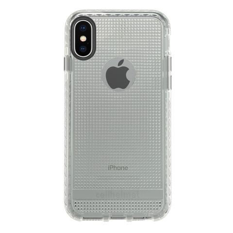 cellhelmet Altitude X Clear Case for Apple iPhone XS/X