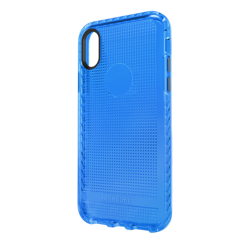 cellhelmet Altitude X Pro Series Blue Case for Apple iPhone Xs / X