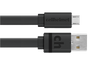 3ft Tangle-Free, Flat Charging Micro USB Cable by cellhelmet Wholesale