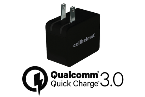 Qualcomm Quick Charge 3.0 Wall Charger by cellhelmet