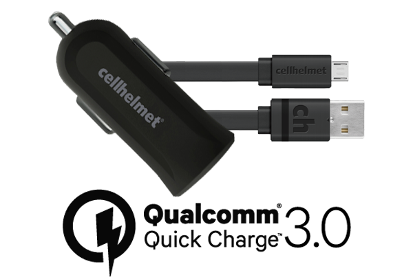 Fast Car Charger Qualcomm Quick Charge 3 0 3 Flat