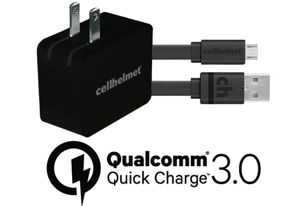 Fast Wall Charger Qualcomm Quick Charge 3 0 3 Flat