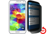 Wholesale Privacy Tempered Glass for Galaxy S5 by cellhelmet
