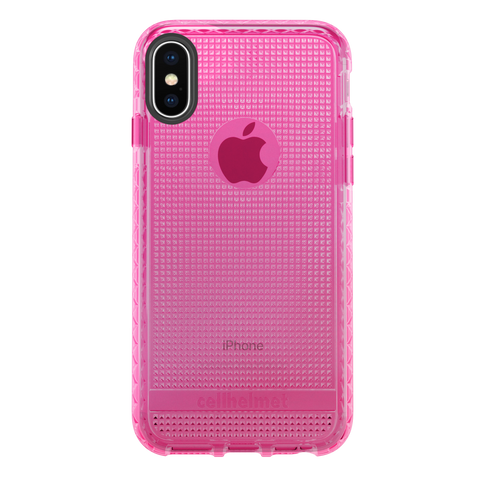 cellhelmet Altitude X Pro Series Pink Case for Apple iPhone Xs / X
