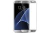 Samsung Galaxy S7 Edge Case Friendly Tempered Glass by cellhelmet - Silver