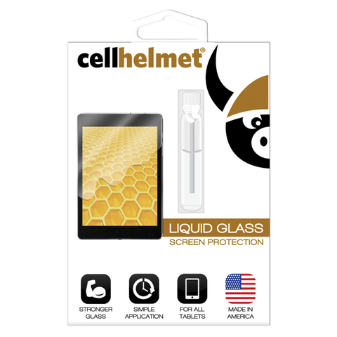Wholesale Liquid Glass Screen Protector by cellhelmet for Tablets