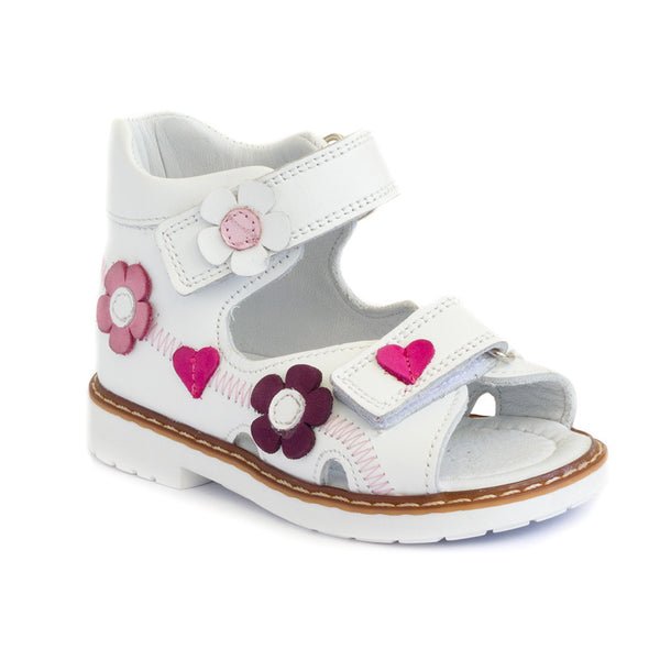 Hero image for JANEY MAY (WHITE) girls' dainty white shoes