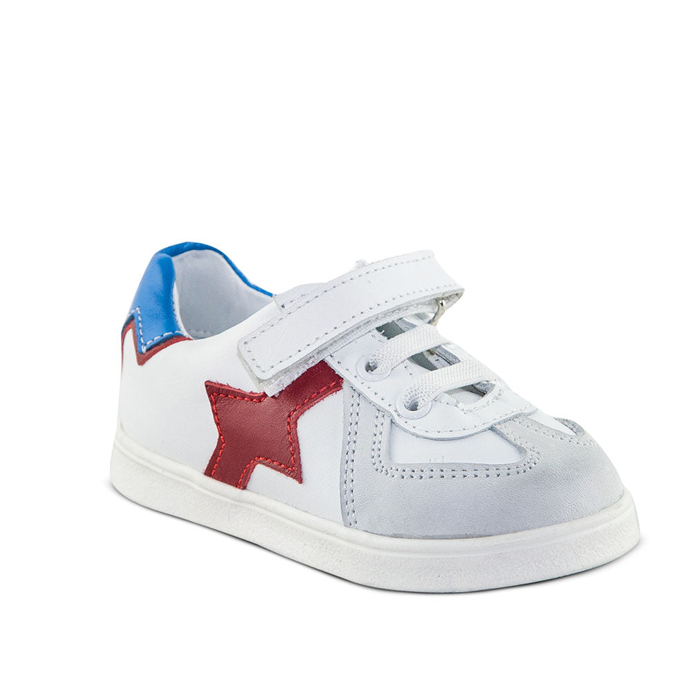 Hero Image for UNITED MALCOLM red, blue and white classic sneakers