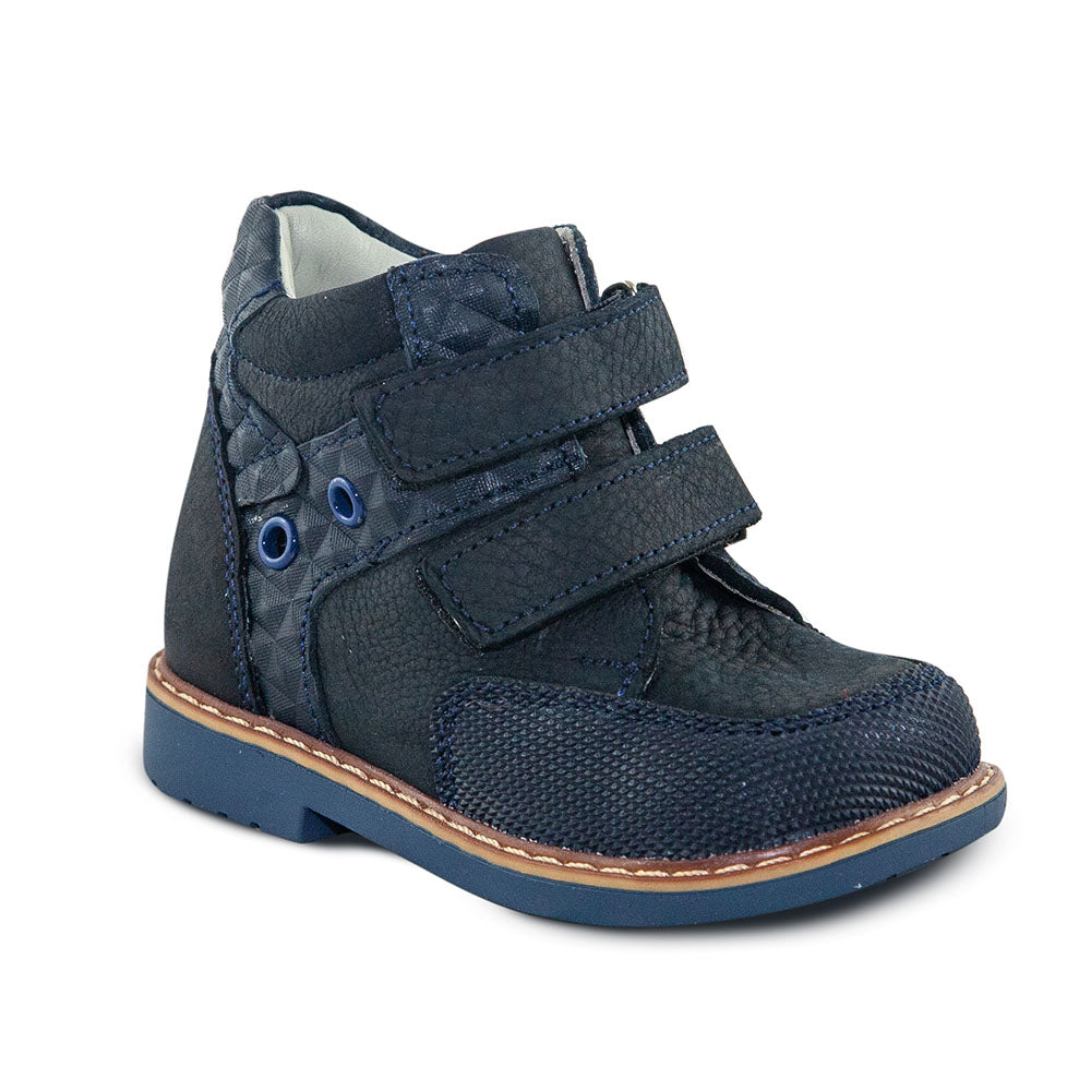 Hero Image for KRISTOFF COVE navy orthopaedic high-top boots
