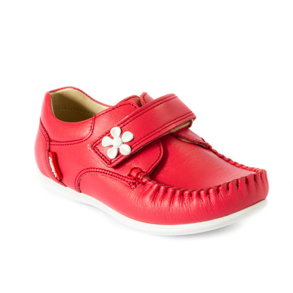 Hero Image for BRITTANY RED sassy girls' moccasins