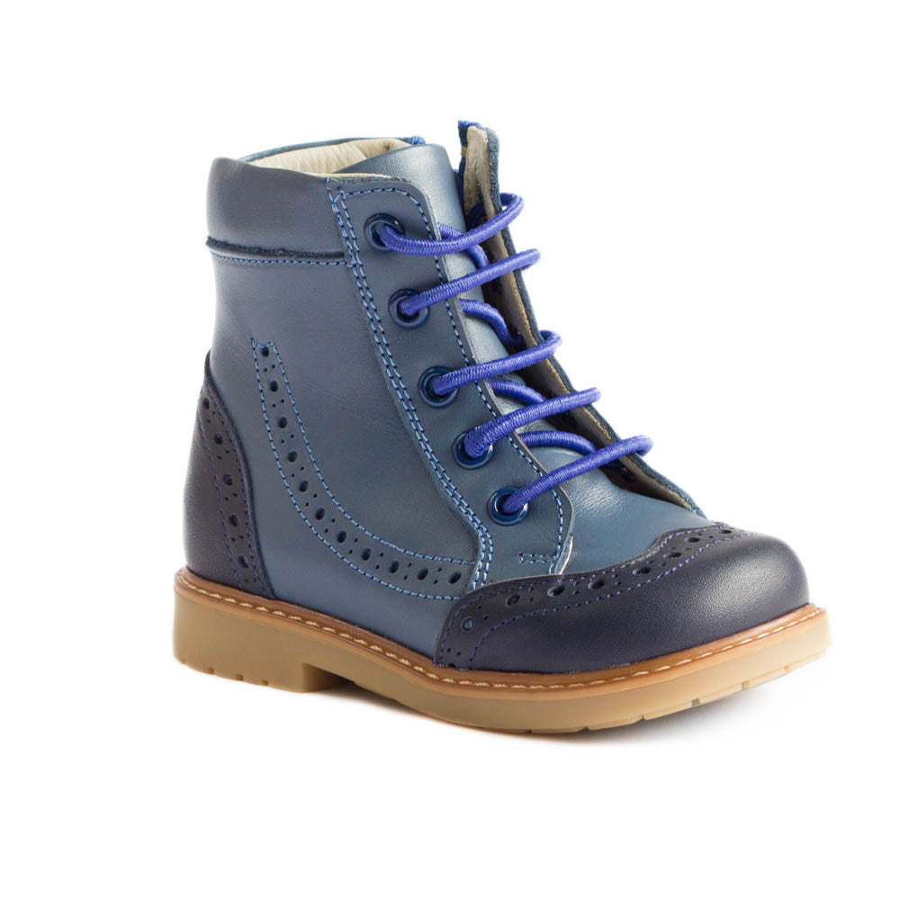 Hero image for Randy Navy orthotics friendly boots