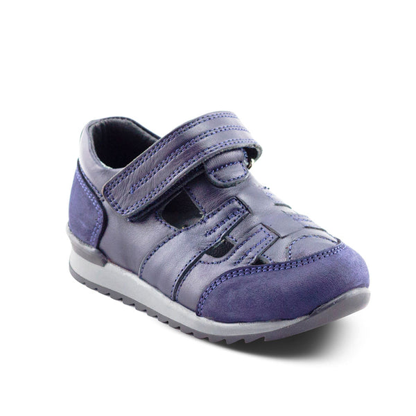 Hero Image for ASH THE FLASH dark blue sport sandals