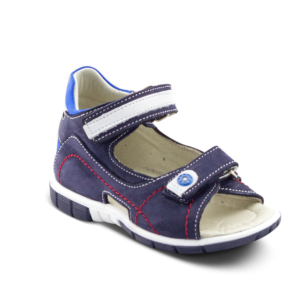 Hero Image for RACING RAF navy & blue boys sandals