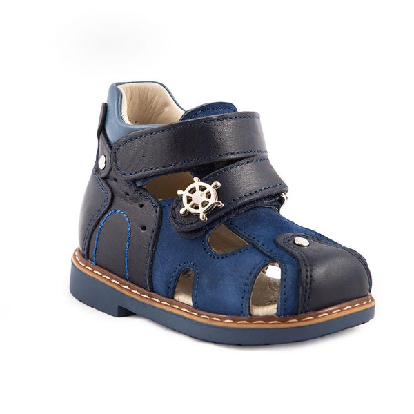 Hero Image for MARITIME LEO naval themed closed-toe sandals