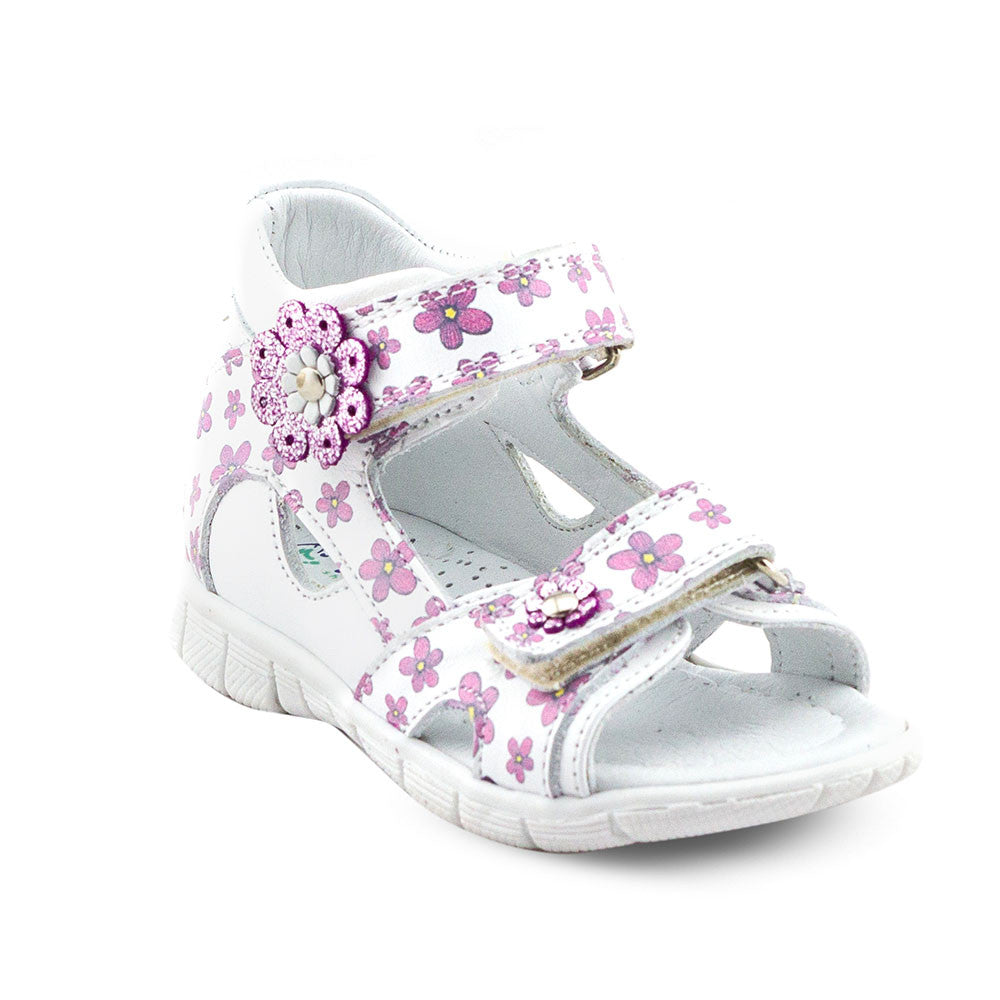 Hero Image for FANCY DAISY supportive white sandals