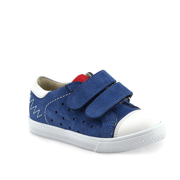 CAMERON LEE navy supportive sneakers