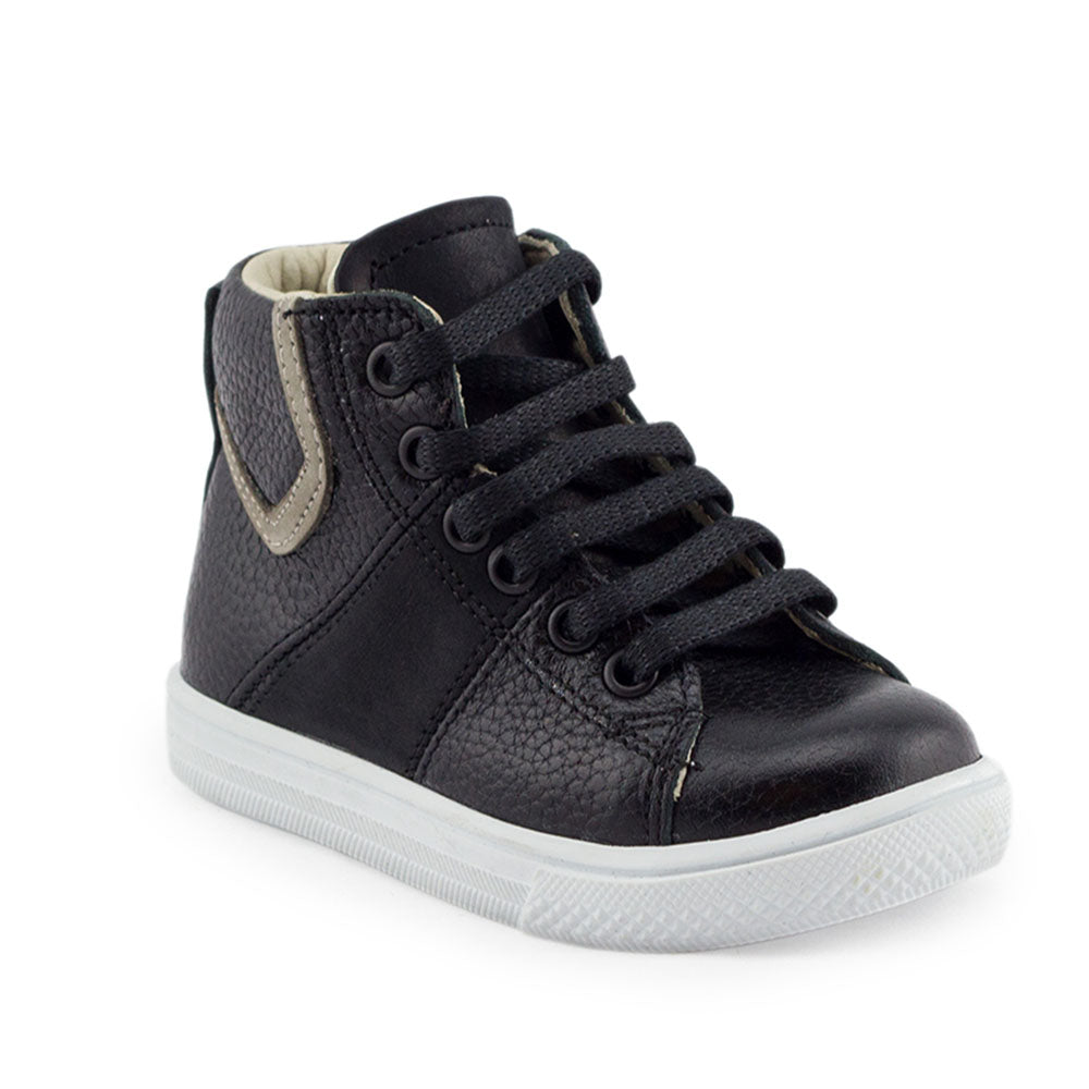 Hero Image for ALL-BLACK RILEY black orthopaedic high-top sneakers