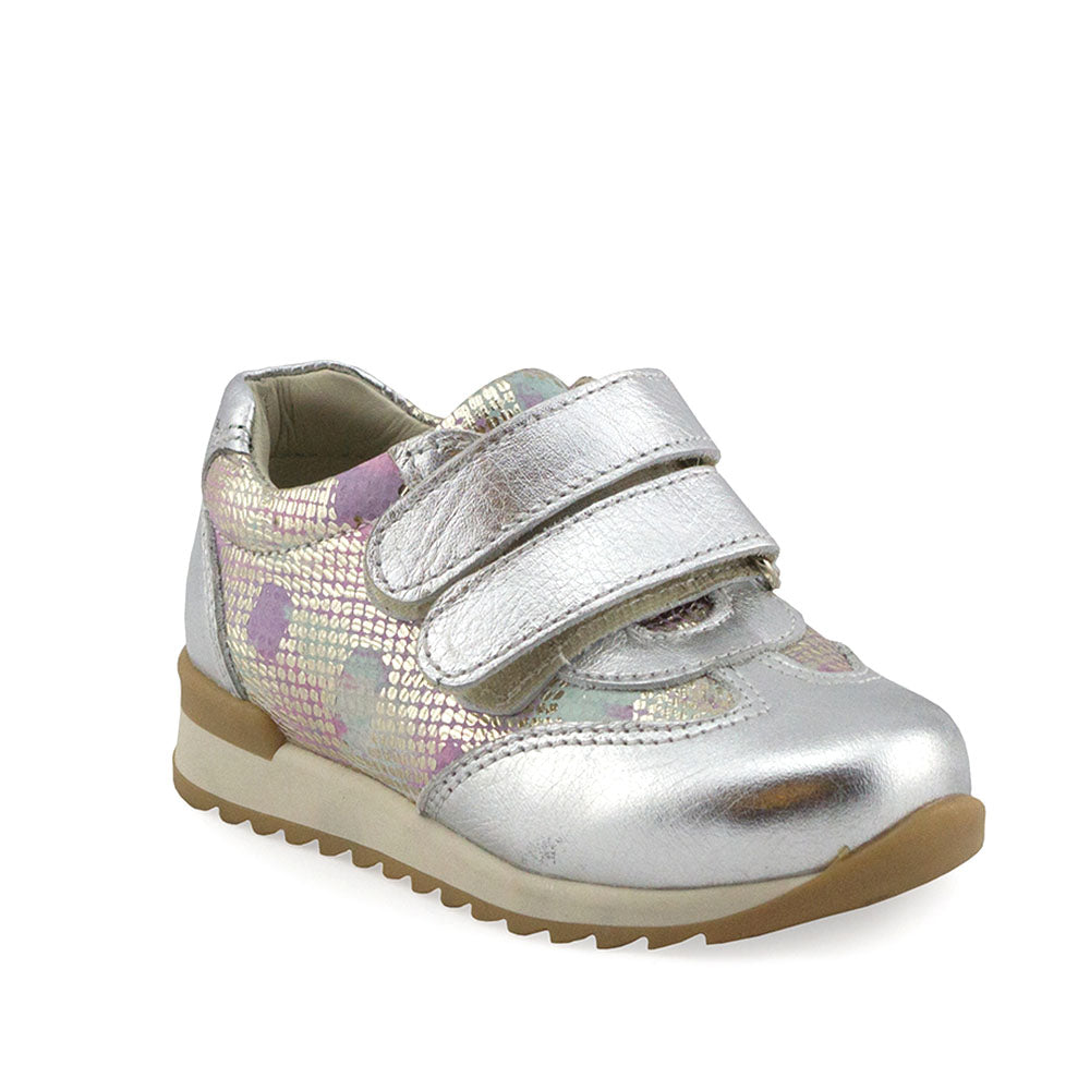 Hero Image for BUBBLY MADISON silver supportive sneakers