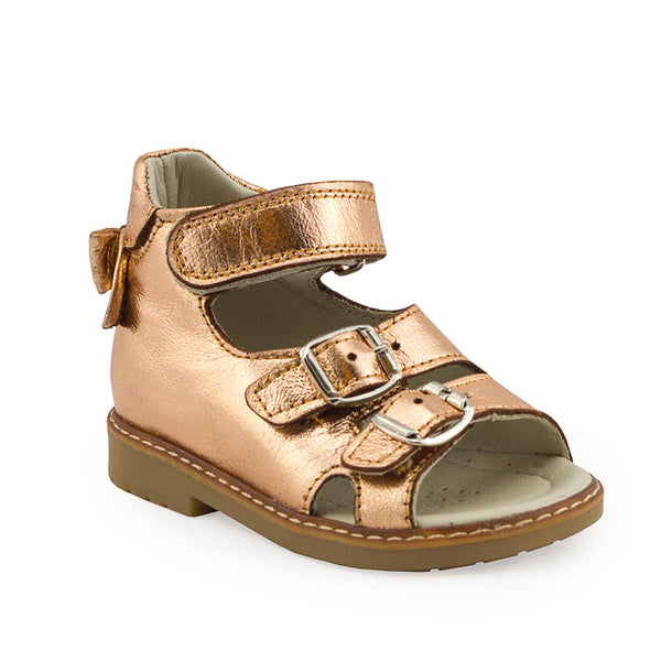 Hero Image for MILA AURIC gold orthopaedic sandals