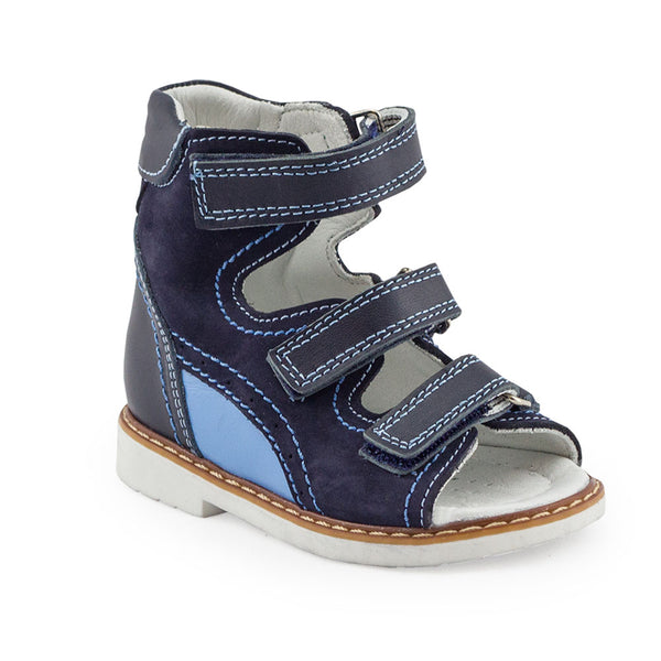 Hero Image for INDIE RYAN navy orthopaedic high-top sandals
