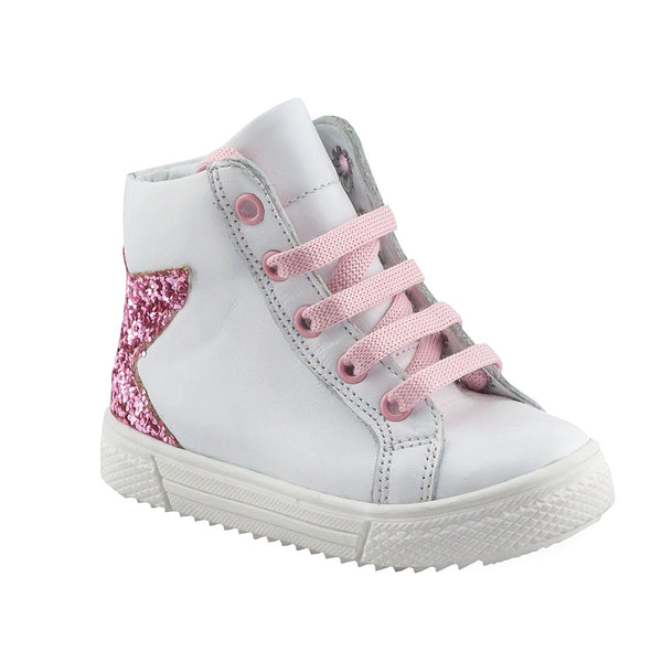 Hero Image for IVORY ABI white orthopaedic high-top sneakers