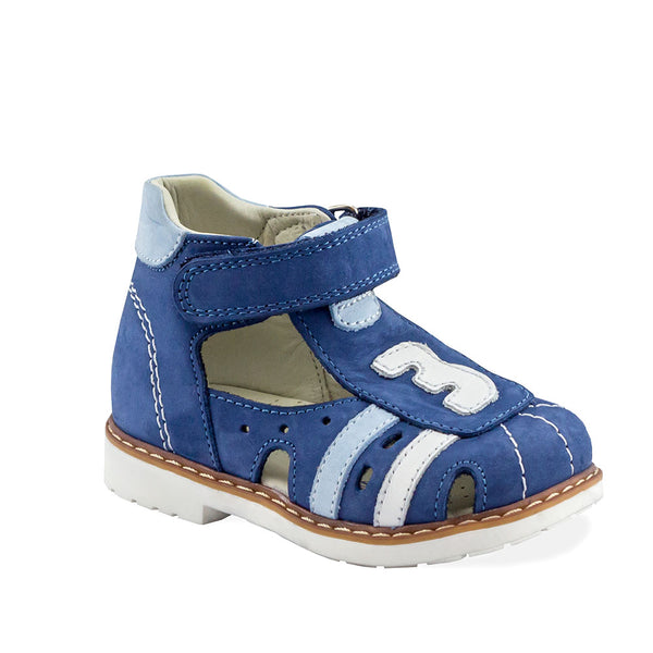 Hero Image for JAUNTY GABRIEL dark blue orthopedic closed-toe sandals