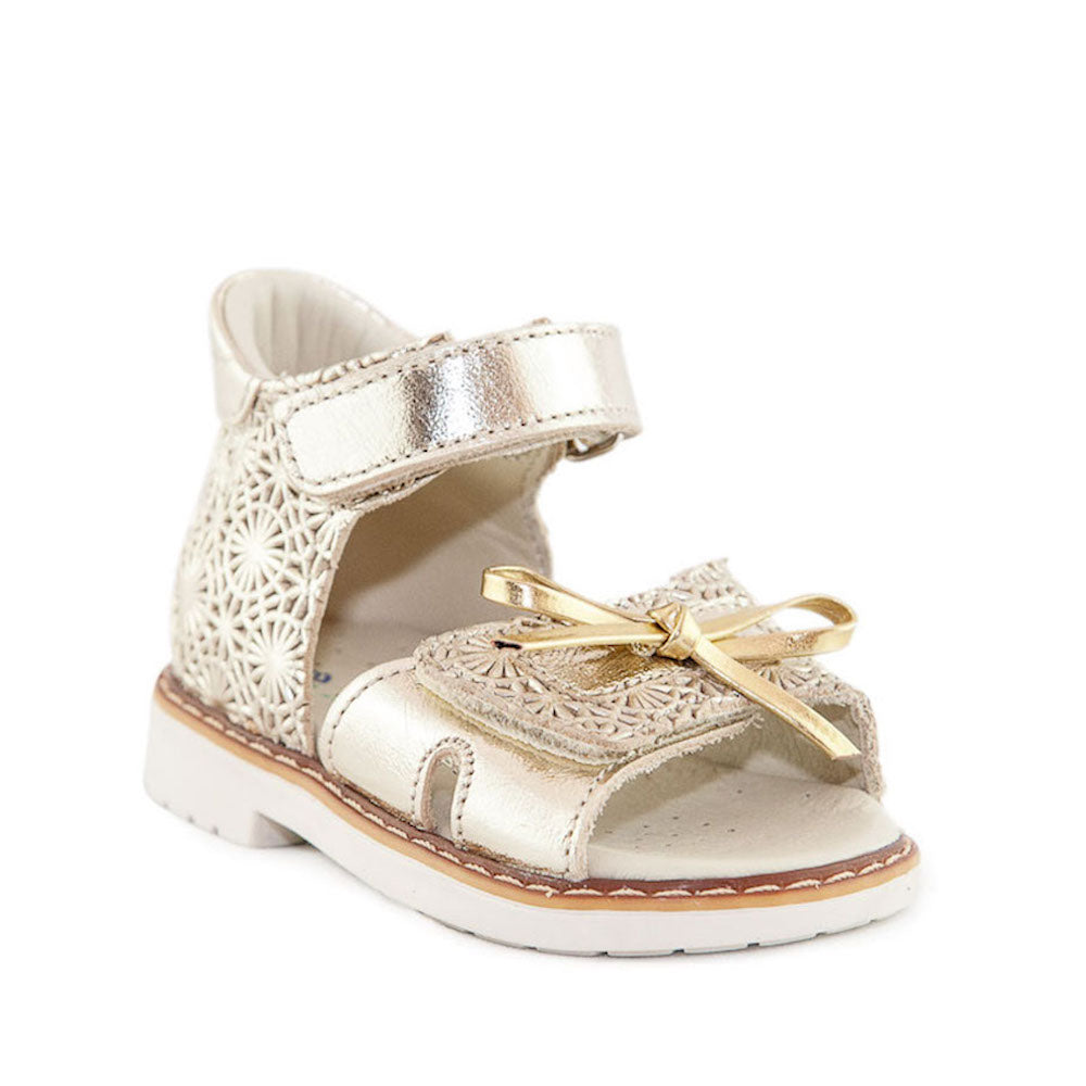 Hero Image for GOLDY LOCK gold orthopaedic sandals