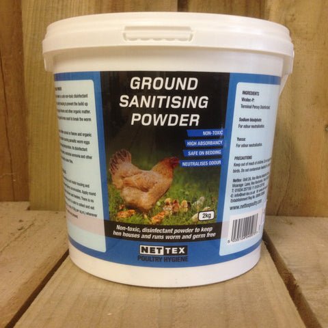 Ground sanitising powder 2kg