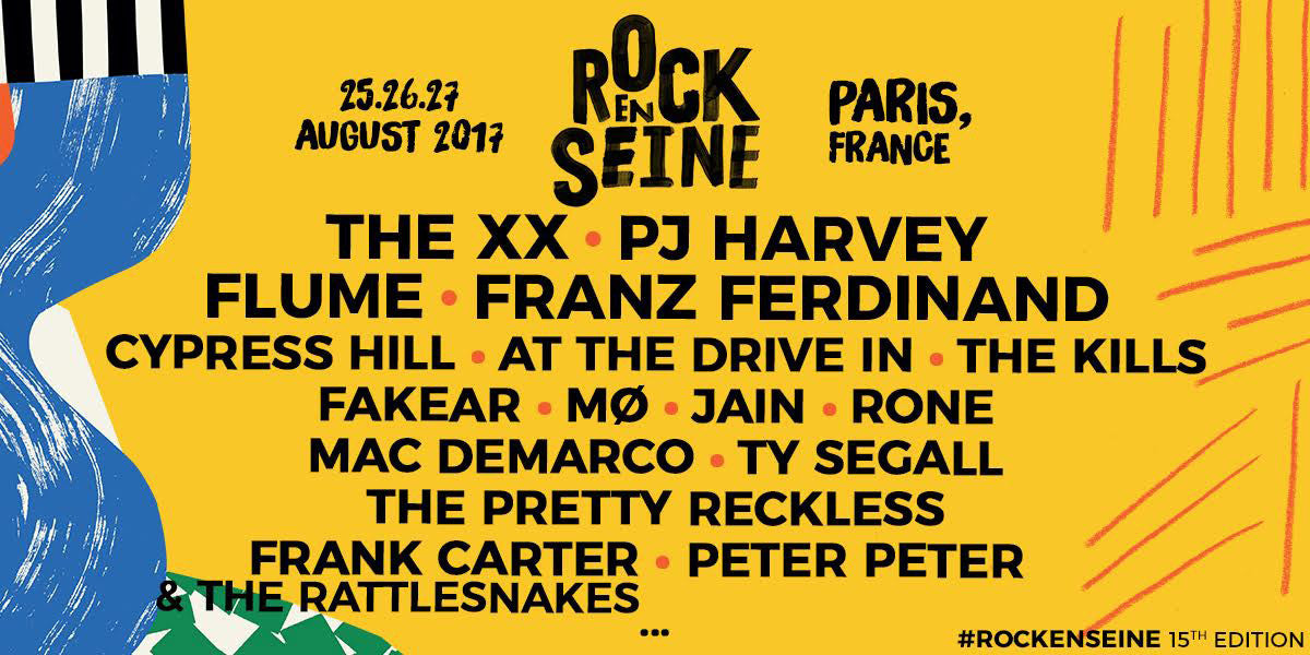 GIVEAWAY | WIN YOUR DREAM CRU SUMMER BACKPACK & 2 TICKETS TO ROCK EN SEINE THIS SUMMER!