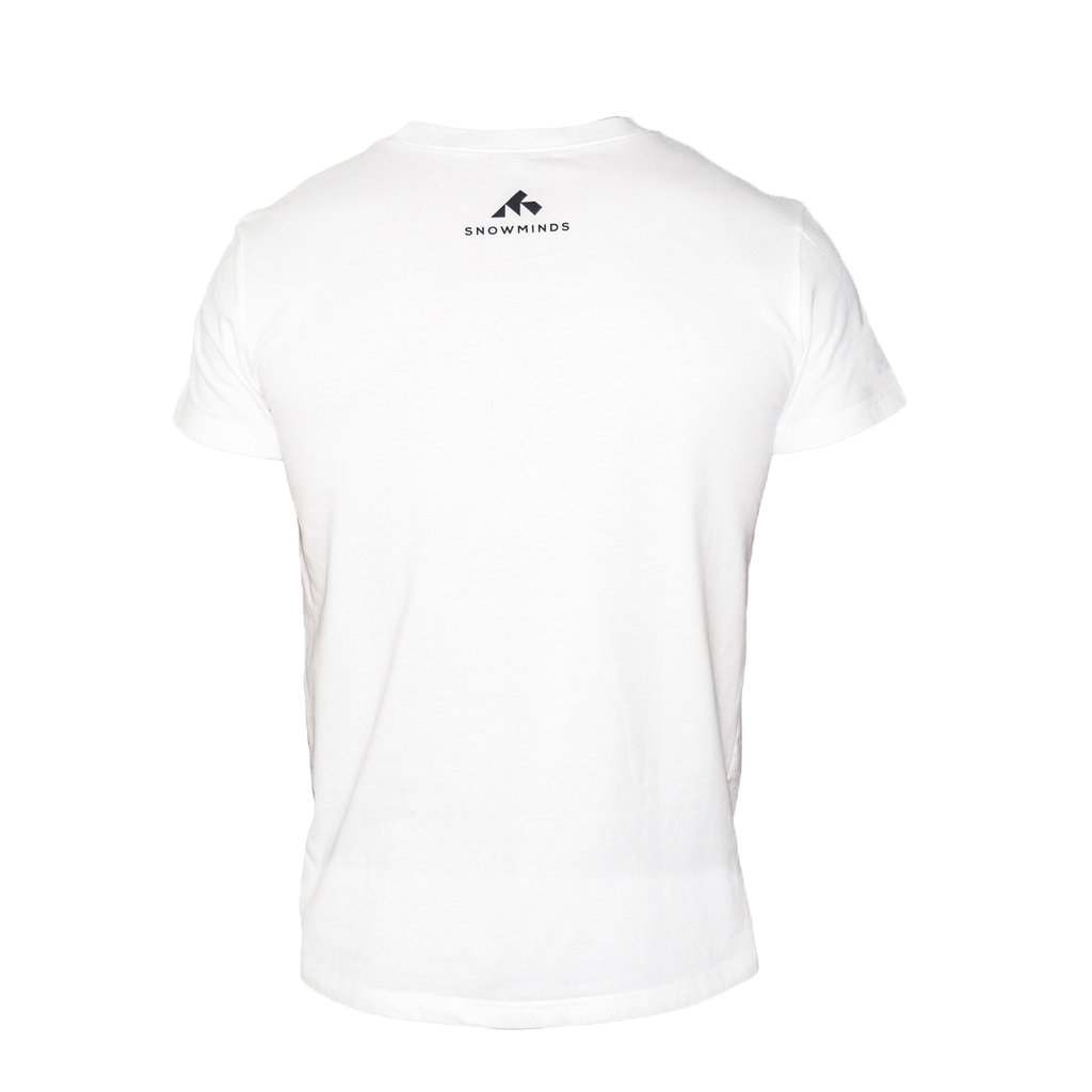 Snowminds Instructor Tee White