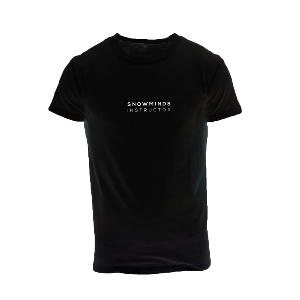 Snowminds Instructor Tee Black