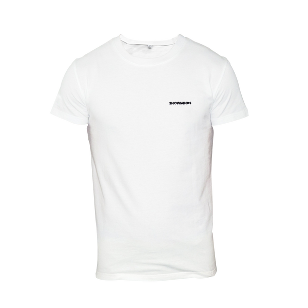 Snowminds Whistler Tee White