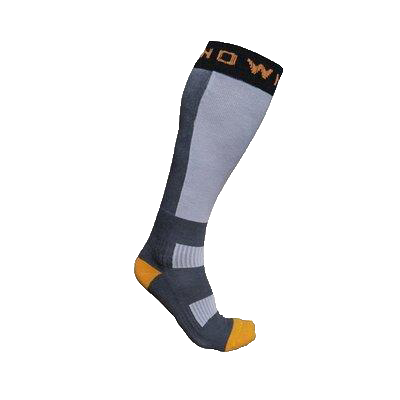 Snowminds Thermal Nuclear Ski Socks Gray