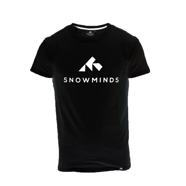 Snowminds Original Tee Black