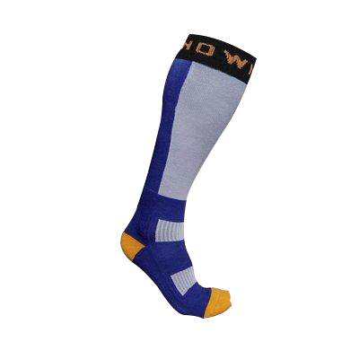 Snowminds Thermal Nuclear Socks Blue