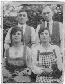 Sidney & Percy with their wives