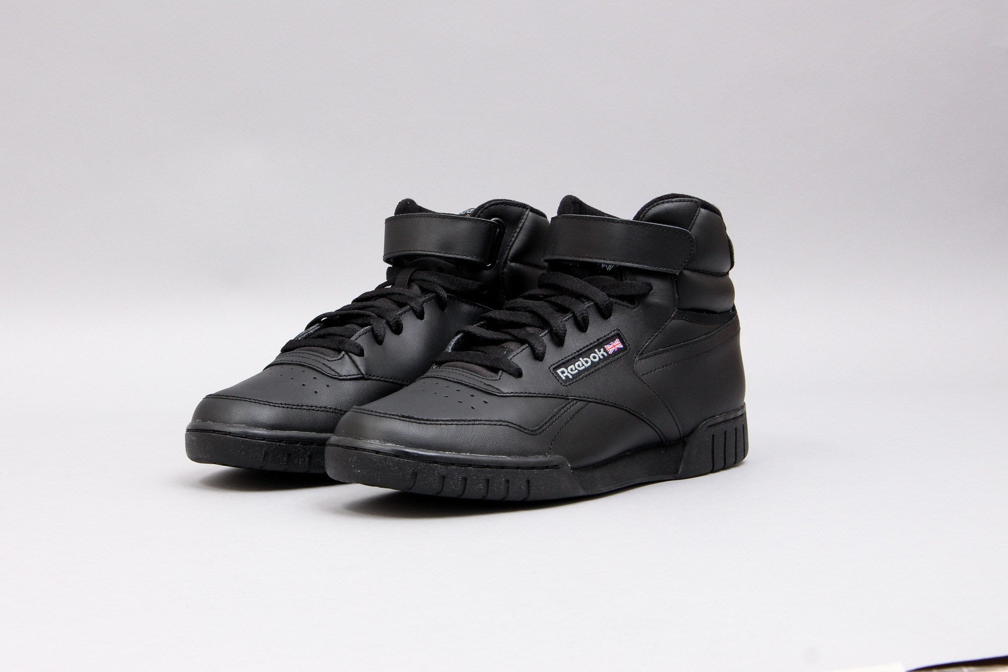 reebok classic high top black for men