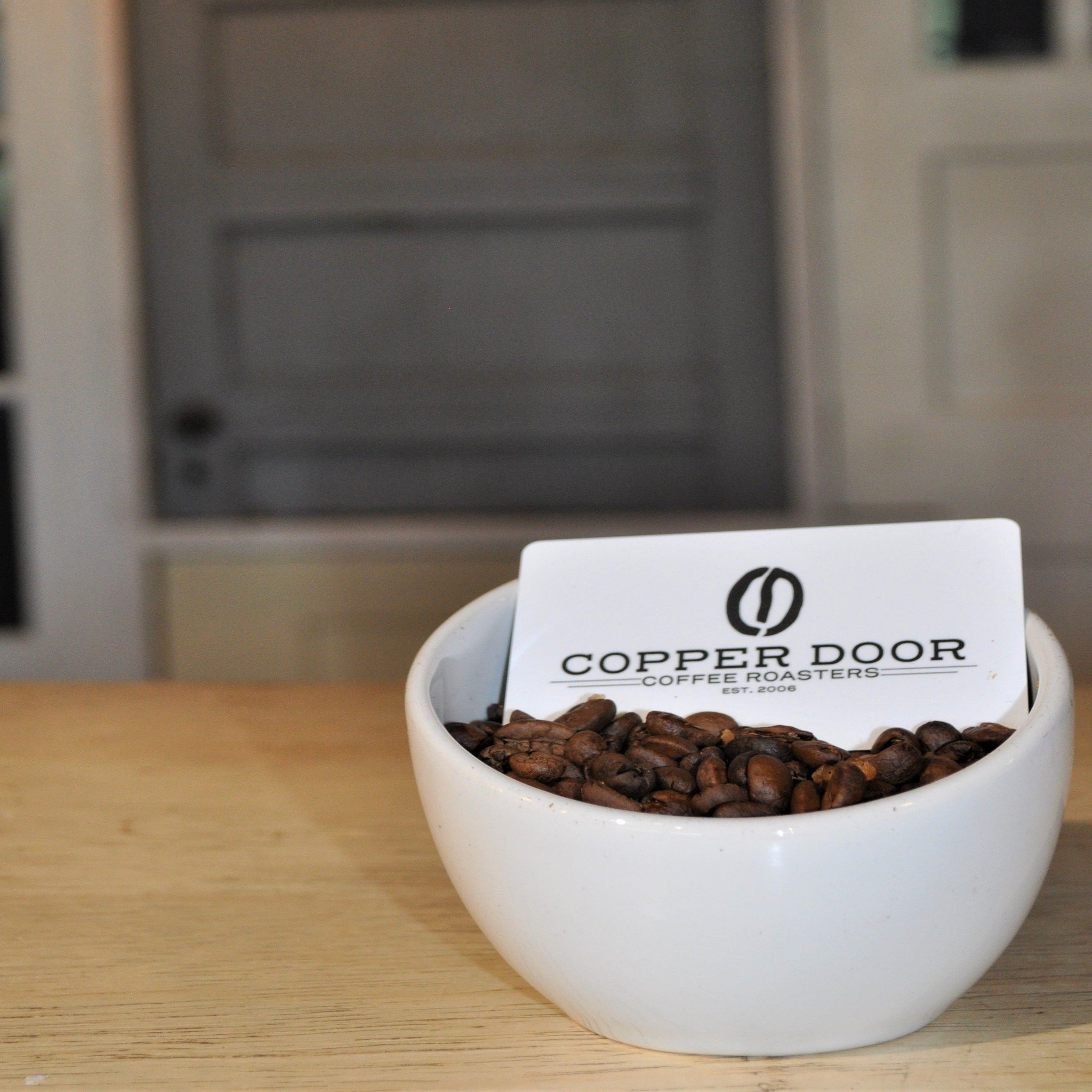Our gift cards are easy to use in any of our cafes.