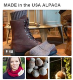 USA made Alpaca socks and alpaca products