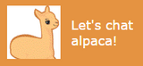 alpaca customer service shopping help chat