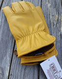 Alpaca Knit lined leather gloves made in the USA