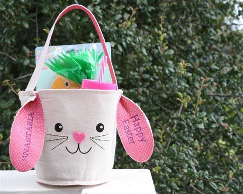 Easter Bunny Basket - Purely Alpaca