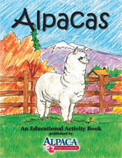 Childrens Activity Book - Purely Alpaca