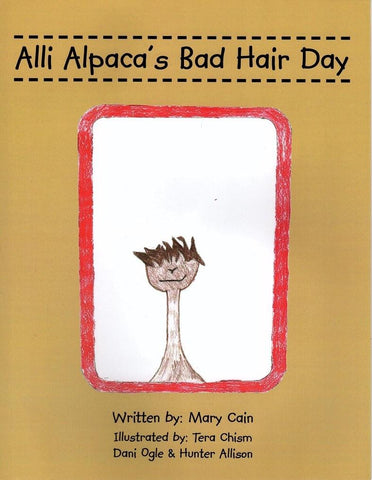 Allia Alpaca's Bad Hair Day Alpaca Childrens' Book - Purely Alpaca