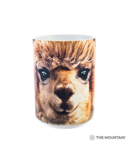 Alpaca Big Face Coffee Mug - Purely Alpaca