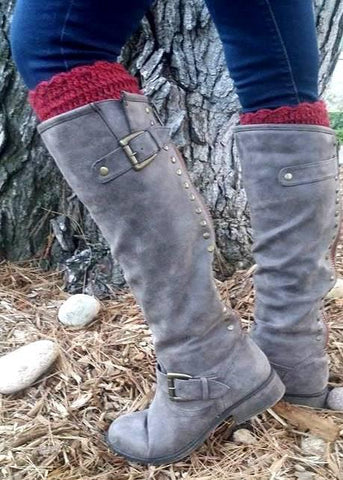 Alpaca Boot Cuffs - Purely Alpaca