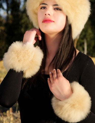 Alpaca Fur Cuffs - Purely Alpaca