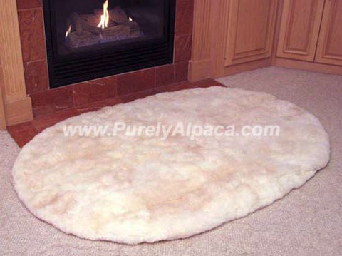 Alpaca Fur Rugs - Fireside - Purely Alpaca
