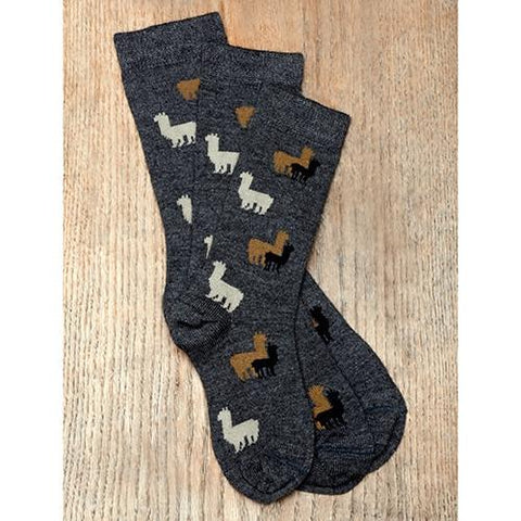 Alpaca Herd Fun Socks - Kids Socks RM