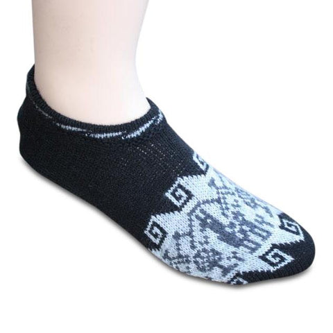 Alpaca Slippers with Padded Sole Socks IAT